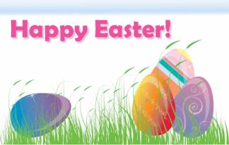 Happy Easter (Clearance) - Nylon 3'x5'