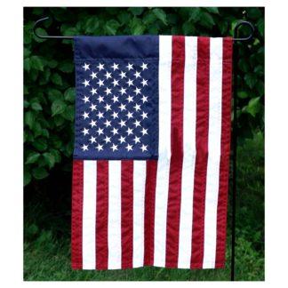 """US Flag - Garden 12""""x18"""" w/ Pole Sleeve"""