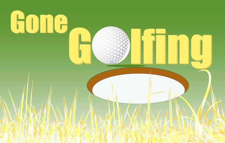 Gone Golfing (Clearance) - Nylon 3'x5'