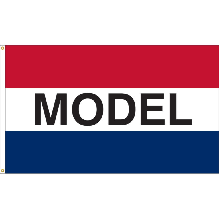 """Message """"Model"""" (Clearance) - Nylon 3'x5'"""