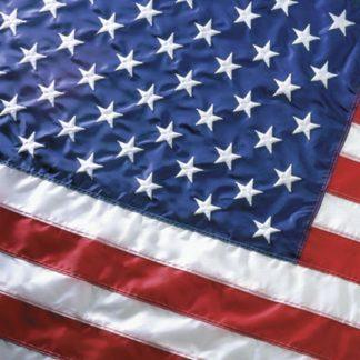 No Fringe US Flag