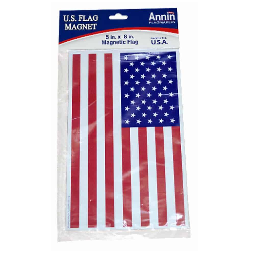 US Flag Car Magnet 1