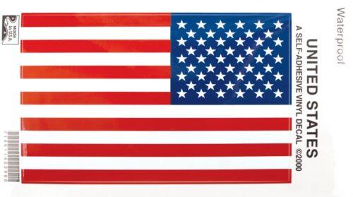 US Flag Stiki-Bak Decal