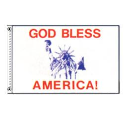 God Bless America (Clearance) – Nylon 3'x5′ 1