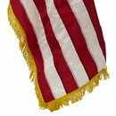 Gold Fringe US Flag