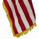 Gold Fringe US Flag