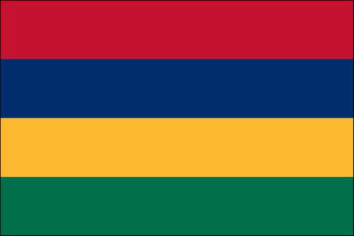 Mauritius- Nylon 3'x5'