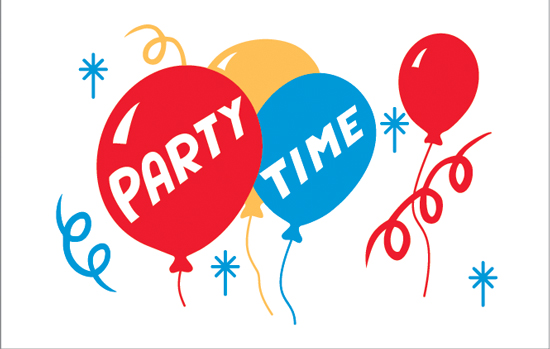 Party Time (Clearance) - Nylon 3'x5'