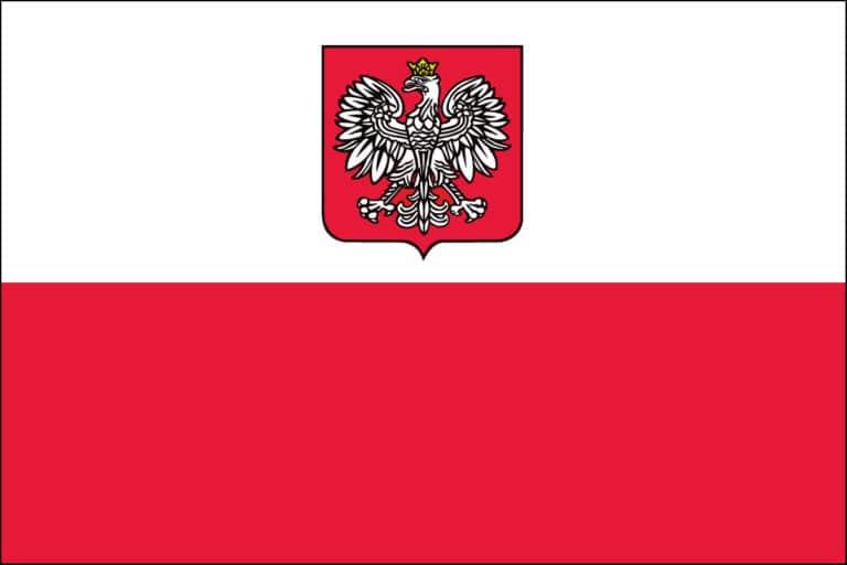 Poland w/ Eagle