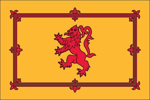 Scotland with Lion- Nylon 3'x5'