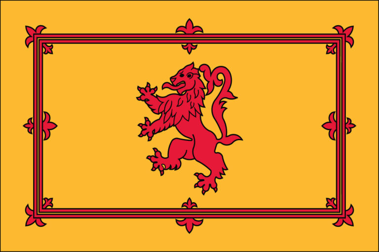 Scotland with Lion- Nylon 3'x5'