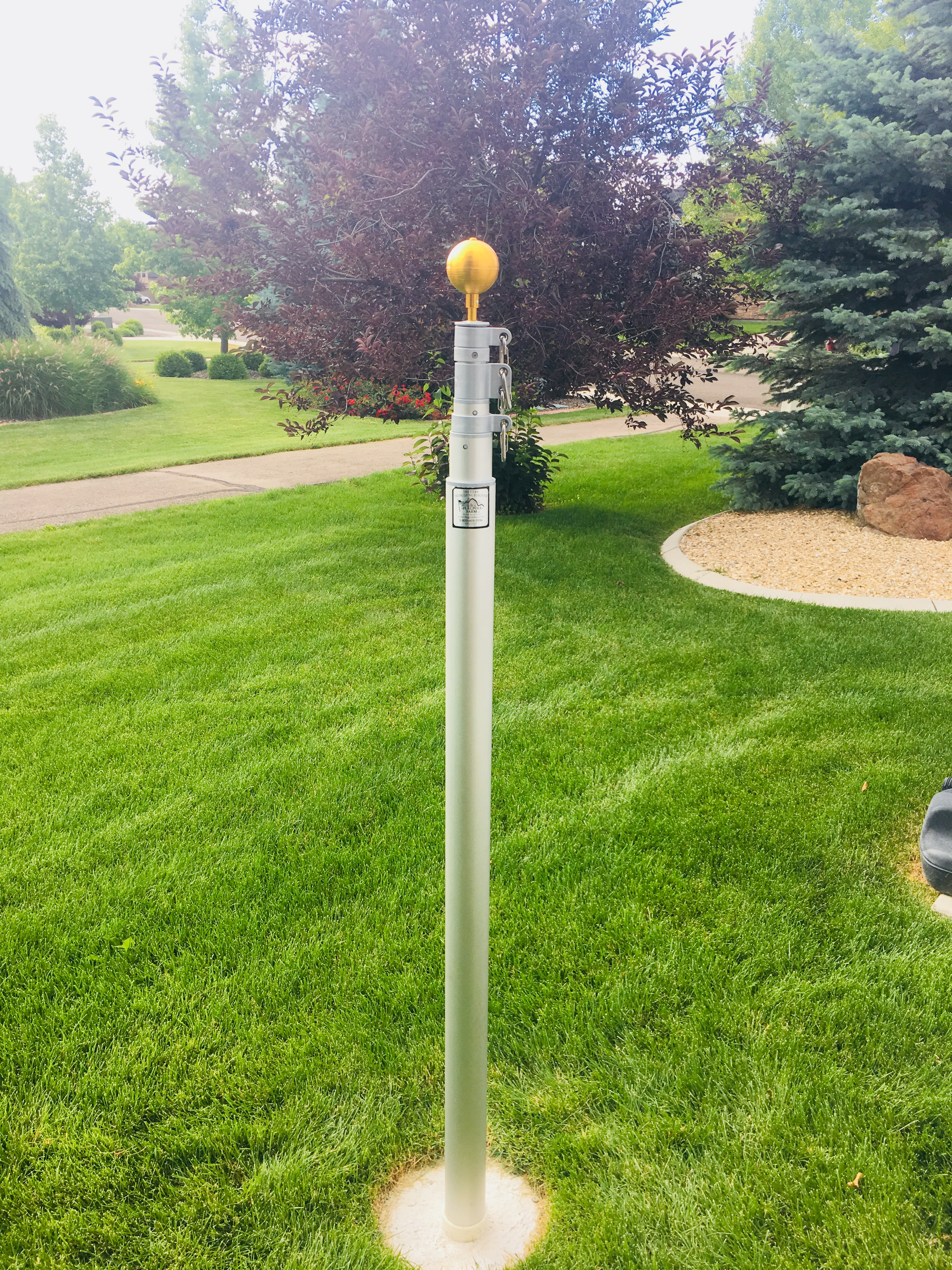 Titan Telescoping Flagpole Kit Proudly Made In The Usa