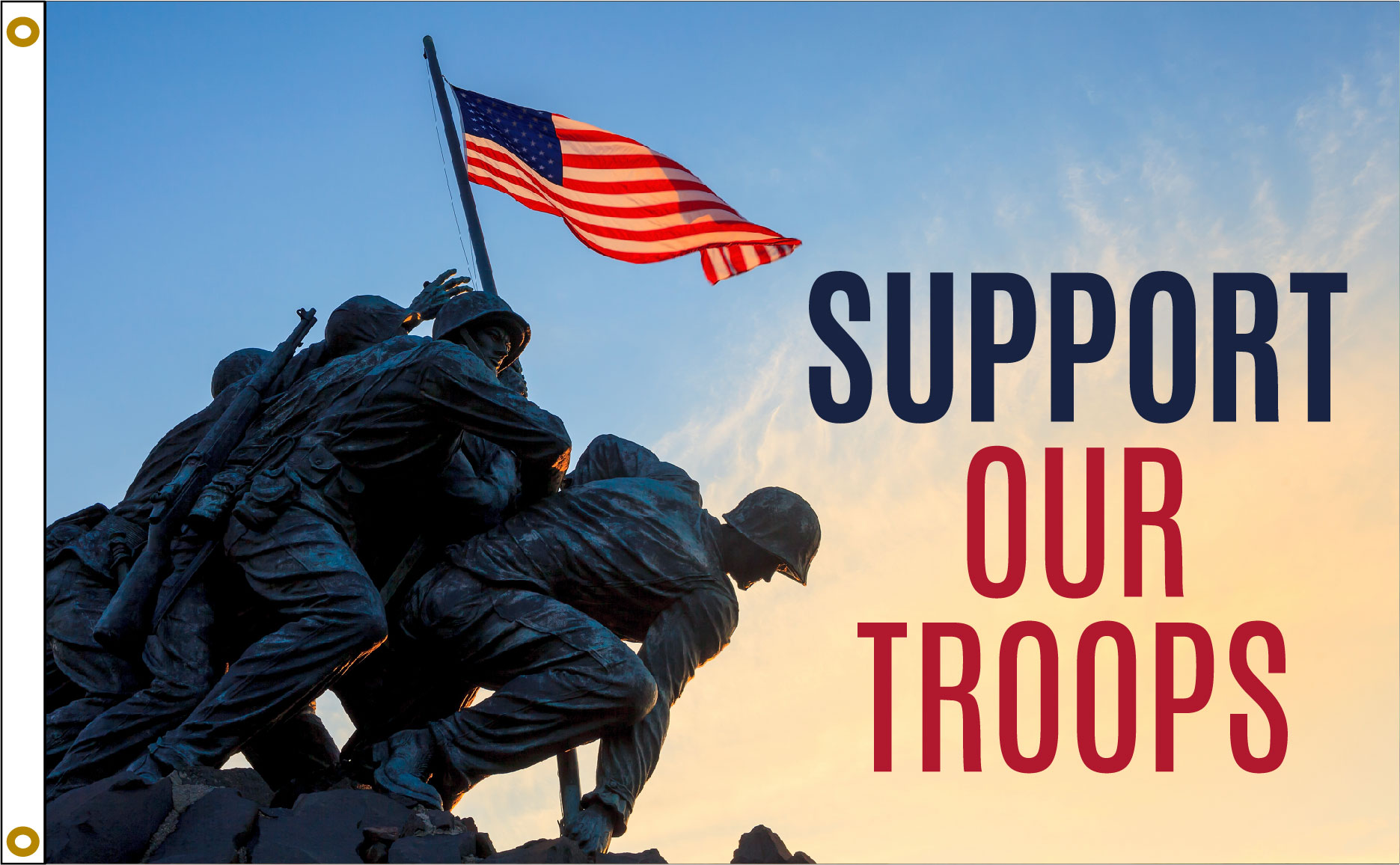 Support Our Troops – Iwo Jima