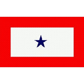 blue star service flag