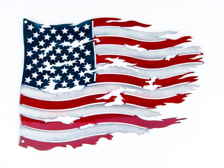 Tattered Flag - US Flag