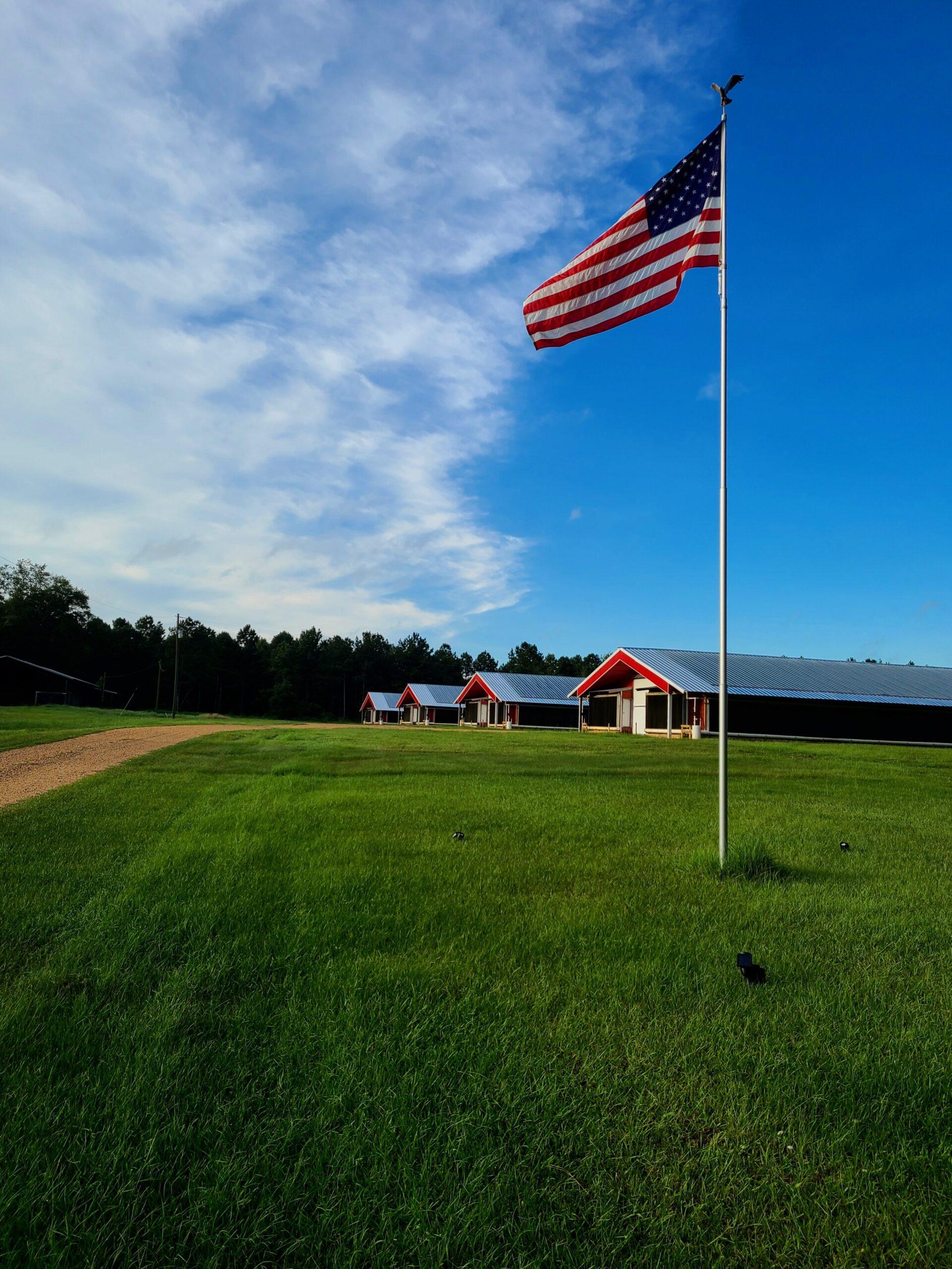 home flagpole